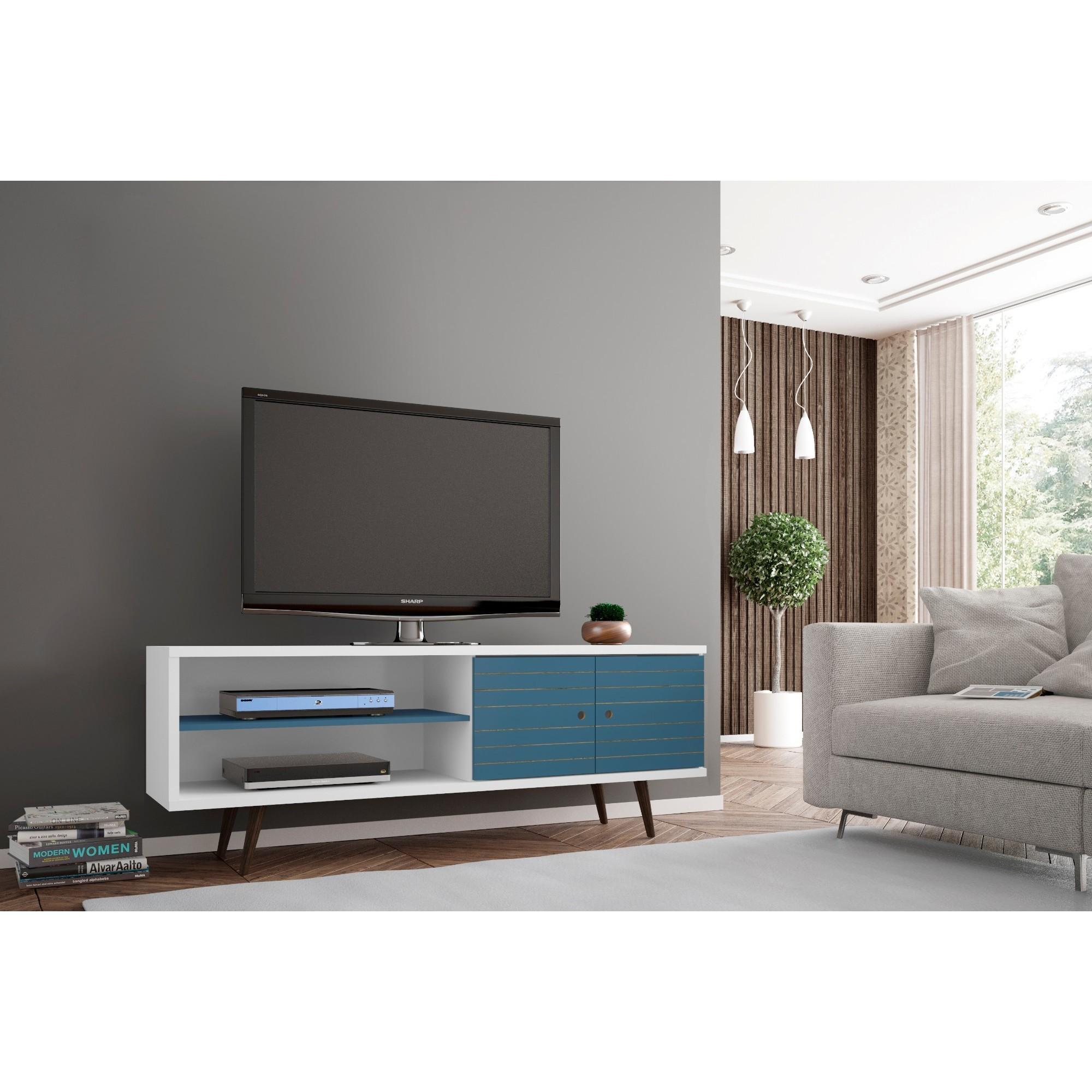 sale retailer 730b4 a4c0b Carson Carrington Sortland Wooden Modern TV Stand