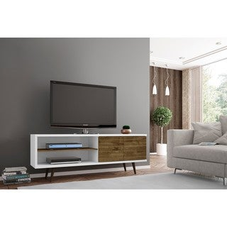 A Palm Canyon Bogert Wooden Modern TV Stand