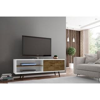 A Palm Canyon Bogert Wooden Modern TV Stand