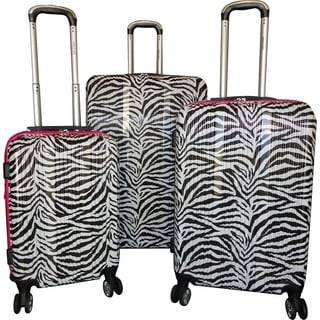 Karriage-Mate 3-Piece Hardside Expandable Spinner Luggage Set