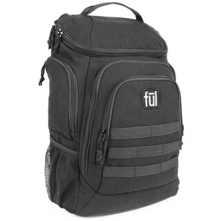 Ful Elite Tactical 17-Inch Black Laptop Backpack