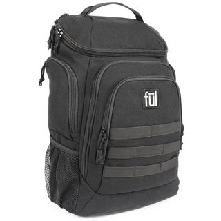 Ful Elite Tactical 17-Inch Black Laptop Backpack