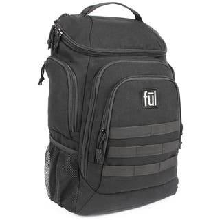 973a324bcc89 Ful Elite Tactical 17-Inch Black Laptop Backpack