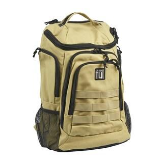 Ful Elite Tactical 17-Inch Khaki Laptop Backpack