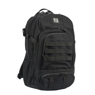 Ful Squad Tactical 17-Inch Black Laptop Backpack