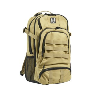 Ful Squad Tactical 17-Inch Khaki Laptop Backpack