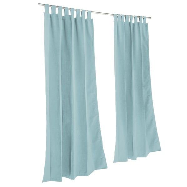 Pawleys Island Sunbrella Curtain - Canvas Glacier