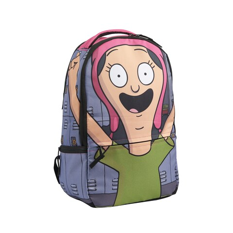 Bob's Burgers Louise Belcher Cosplay Hood 17-Inch Laptop Backpack