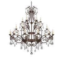 Savoy House Florence New Tortoise Shell 24-light Chandelier