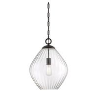 Carnegie 1 Light Pendant English Bronze