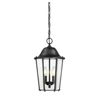 Truscott 2 Light Hanging Lantern Black