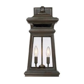 Taylor Wall Lantern English Bronze w/ Gold