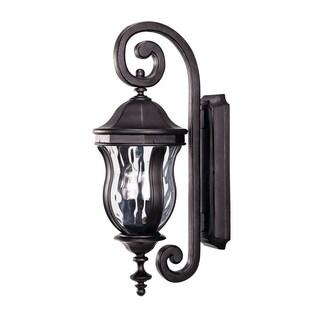 Savoy House Monticello Black 2-light Wall-mount Lantern