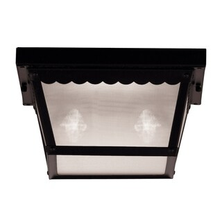Exterior Collections Flush Mount Black