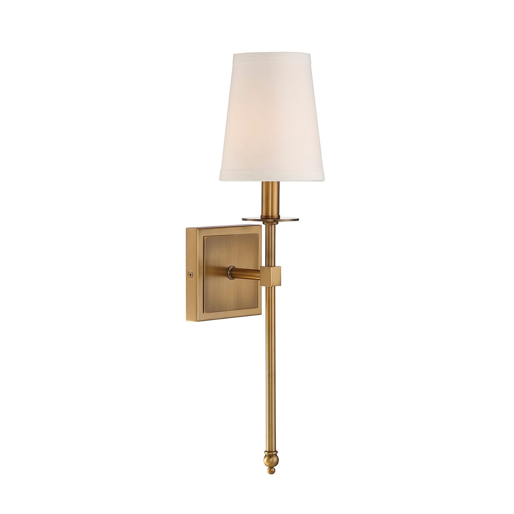 Monroe 1 Light Sconce Warm Brass