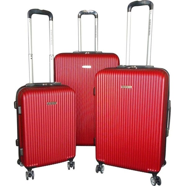 Karriage-Mate 3-Piece Hardside Spinners Luggage Set
