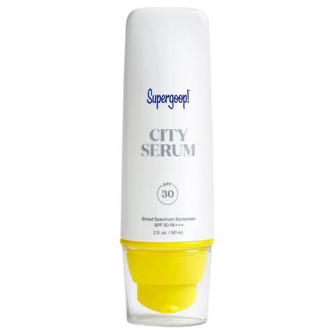 Supergoop! City 2-ounce Sunscreen Serum SPF 30