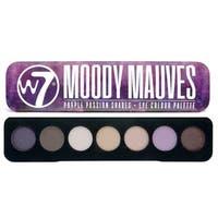 W7 Moody Mauves Purple Passion Shades 7 Eye Shadows