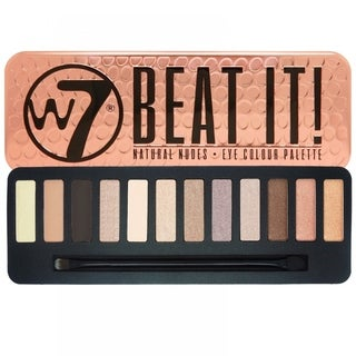 W7 Beat It Natural Nudes Eye Colour Palette Tin