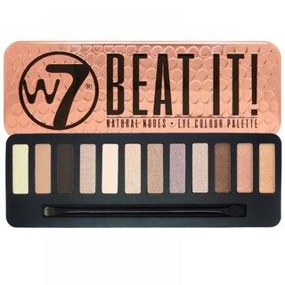 W7 Beat It Natural Nudes Eye Colour Palette Tin
