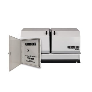 Champion 14-kW Home Standby Generator with 200-Amp Whole House Automatic Transfer Switch with Demand Control