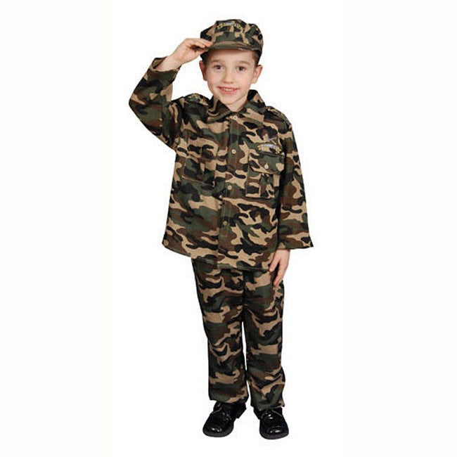 Deluxe Children's Solider Army Dress Up Set