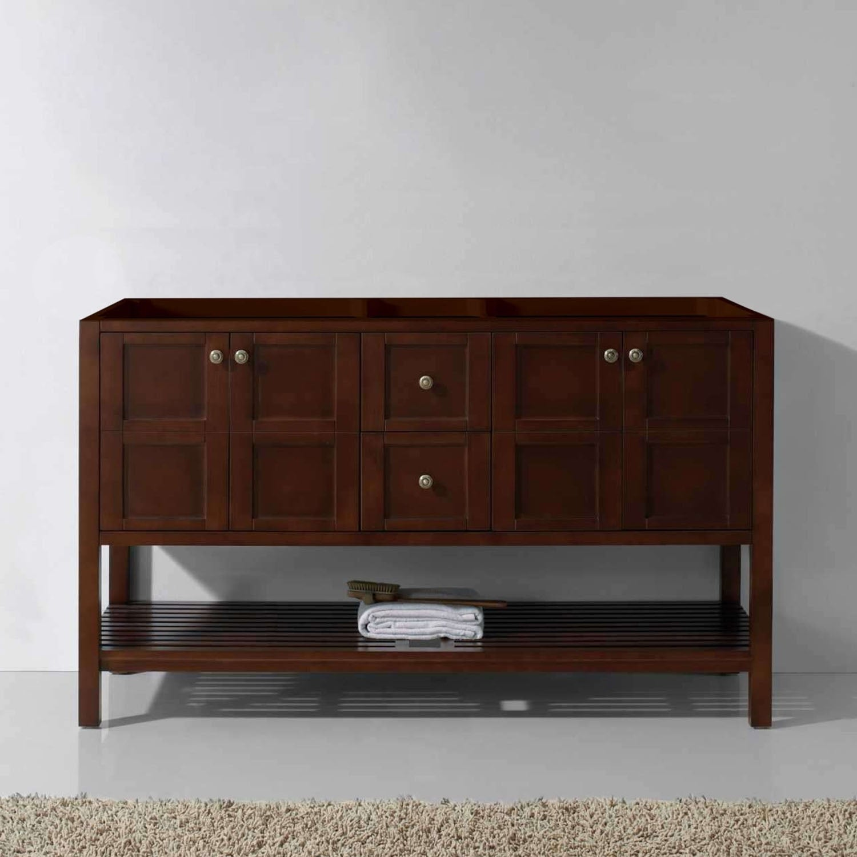 Genial Virtu USA Winterfell 60 Inch Double Vanity Cabinet