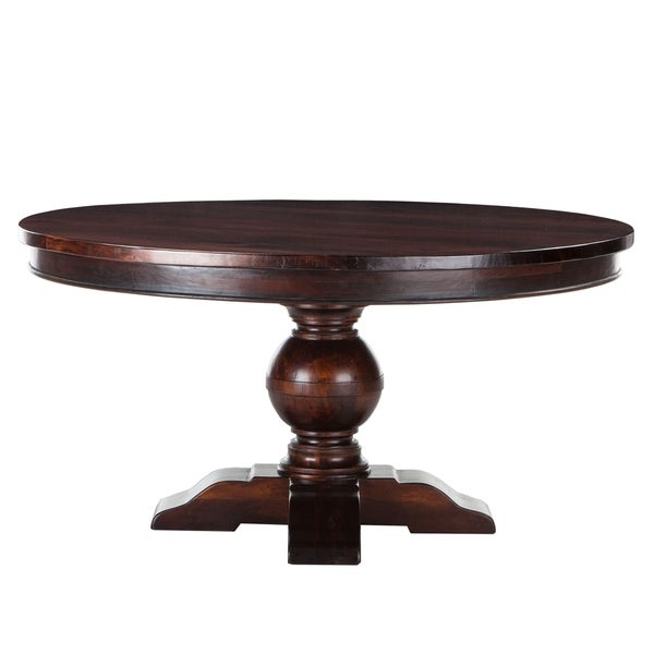 Shop World Interiors Chestnut Finish Mango Wood 54 Inch
