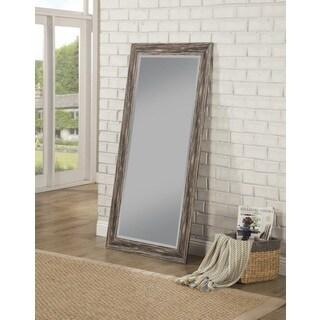 Sandberg Furniture Antique Black Farmhouse Full Length Leaner Mirror - Antique Black
