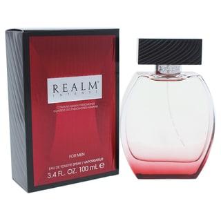 Realm Intense Men's 3.4-ounce Eau de Toilette Spray