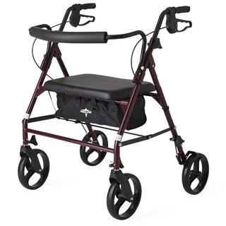Medline Standard Bariatric Heavy-duty 500 lb. Weight Capacity Rollator Walker https://ak1.ostkcdn.com/images/products/17482788/P23712171.jpg?_ostk_perf_=percv&impolicy=medium