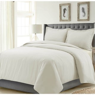 Madrid Solid or Printed Oversized Duvet Cover Set