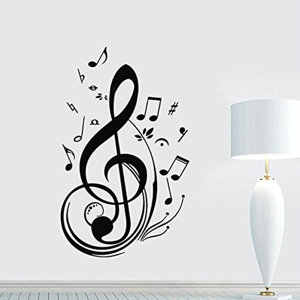 Music Note Wall Viny