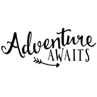 Adventure Awaits Wall Viny