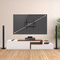 Furinno Modern Wall Mount TV Bracket for TV up to 65 Inch
