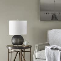 Madison Park Bernal Grey Table Lamp