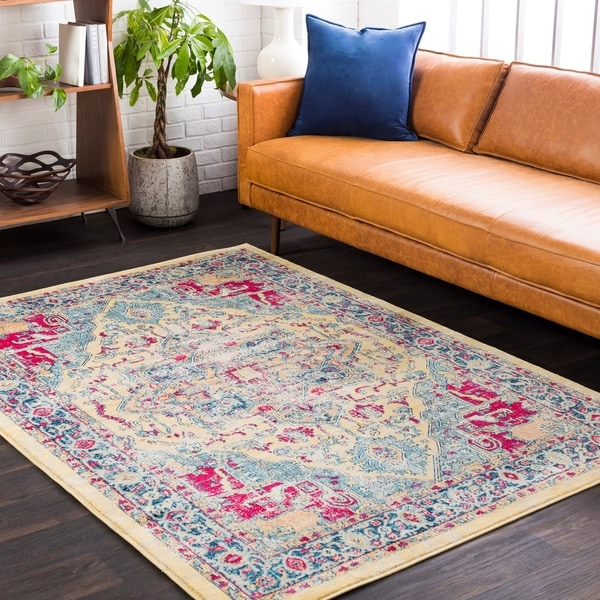 shop minnetrista boho oriental yellow area rug 7 39 10 x 10 39 3 on sale free shipping today. Black Bedroom Furniture Sets. Home Design Ideas