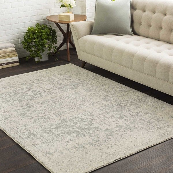 Colony House Vintage Oriental Light-Blue Runner Rug (2'7 x 12')