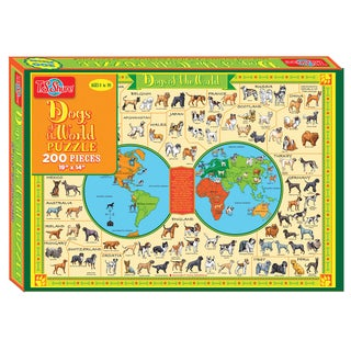 T.S. Shure Dogs of the World 500 Piece Jigsaw Puzzle