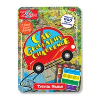 T.S. Shure Car Geography Challenge Game Tin