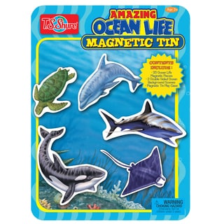 T.S. Shure Ocean Life Magnetic Tin Playset