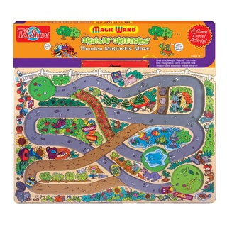 T.S. Shure Cruisin' Critters Wooden Magnetic Maze