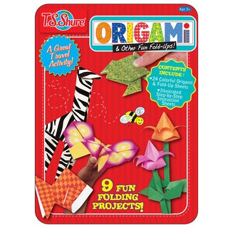 T.S. Shure Origami and Fun Fold Ups Creativity Tin