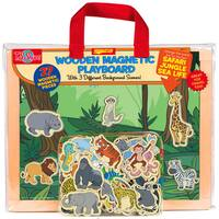 Jungle Safari Sea Life Wooden Magnetic Playboard