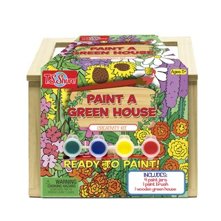 T.S. Shure Wooden Paint a Greenhouse