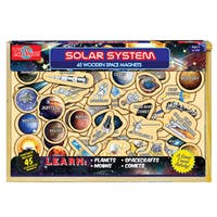 T.S. Shure Solar System 45 Wooden Magnets
