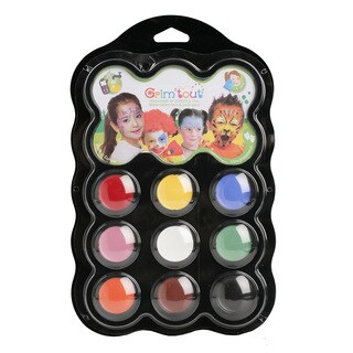 Grim 'tout 9 Carnival Color Face Paints