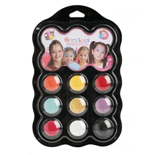 Grim 'tout 9 Princess Color Face Paints