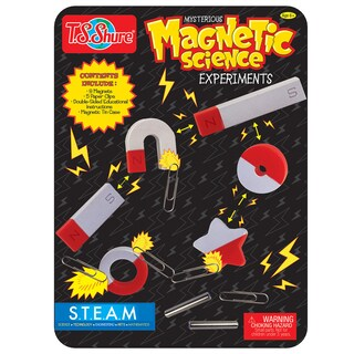 T.S. Shure Science Magnets Magnetic Experiments Tin