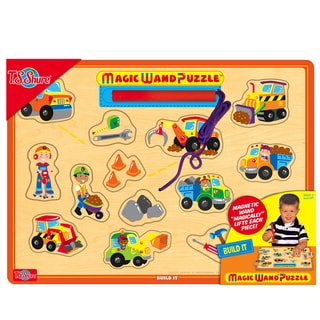T.S. Shure Build It Wooden Magnetic Magic Wand Puzzle